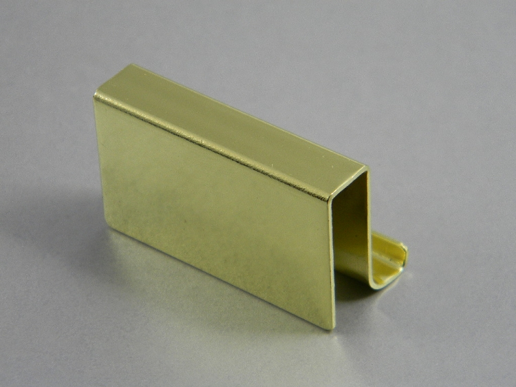 Glass Door Touch Strikes With Finger Pulls Brass