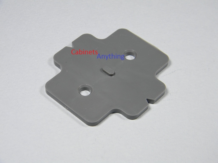 Blum Stack Able 3mm 1 8 Quot Frame Less Mounting Plate
