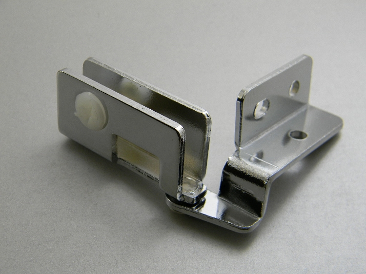 Glass Door Overlay Hinges 180 176 Chrome