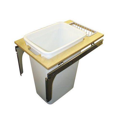 Kv 50 Quart Single Pullout Waste Bin