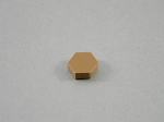 HEXAGON CABINET BUMPERS SHEET OF 108 BUTTERSCOTCH