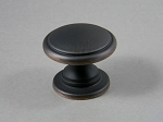 AMEROCK OIL RUBBED BRONZE KNOB, ALLISON  BP53012-ORB