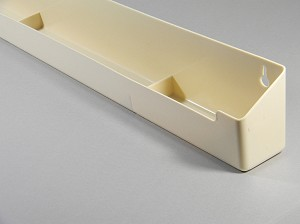 "KV SINK FRONT TRAY 30 1/4"" ALMOND"